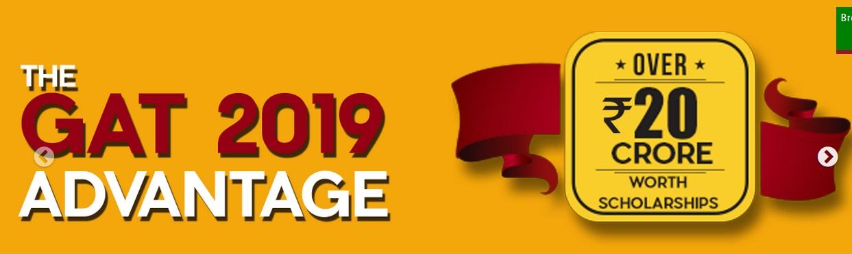 GITAM GAT Admission & Scholarship Test 2019 – www