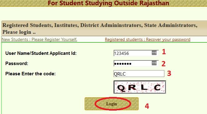 sje rajasthan gov in ROSE Scholarship Online Application : Social
