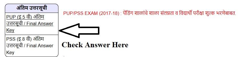 MSCE Pune Scholarship Result 2017-18 Primary/Secondary Exam