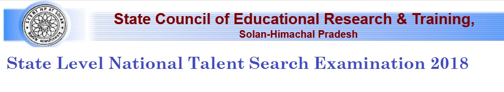 admis hp nic in NTSE State Level National Talent Search