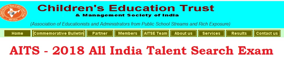 Cetmsi aits all india talent search examination 2018 childrens all students studying in either cass vii or viii during the academic session 2018 19 in any school in the countryabroad are eligible to appear in the altavistaventures Choice Image